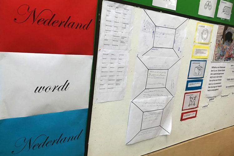 Groep 8 presenteert opbrengsten 'Nederland wordt Nederland'