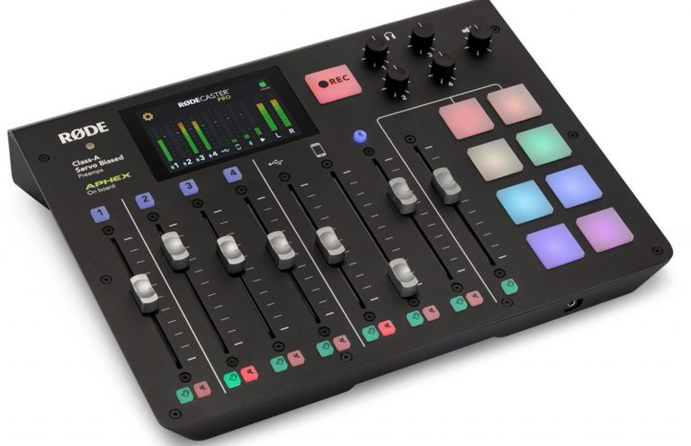 RØDECaster Pro: Eenvoudig en professioneel radio maken