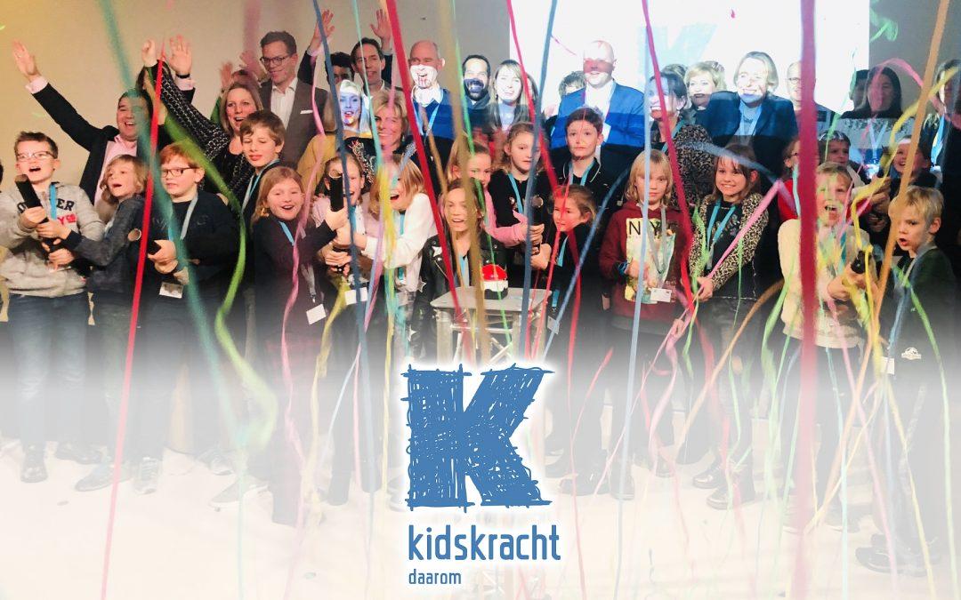 Kinderen lanceren met Prinses Laurentien Kidskracht