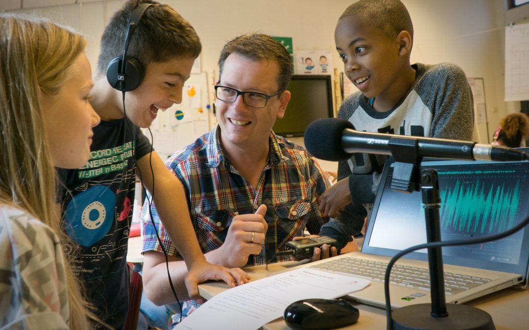 Hoe een radiohart sneller klopt in de klas