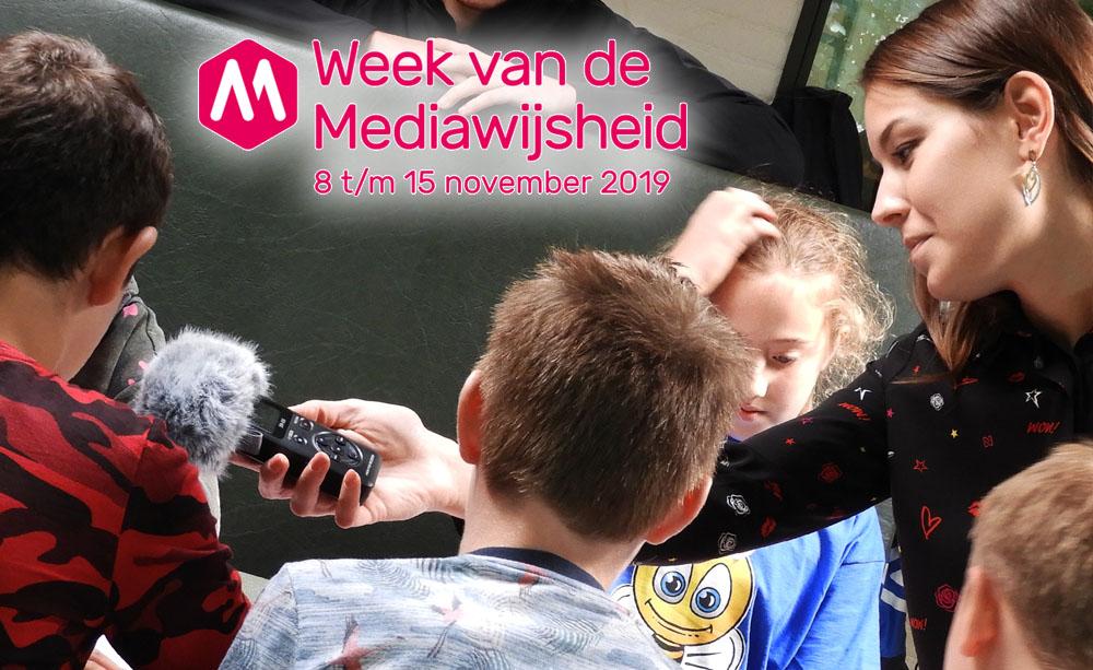 Maak radio tijdens de Week van de Mediawijsheid 2019